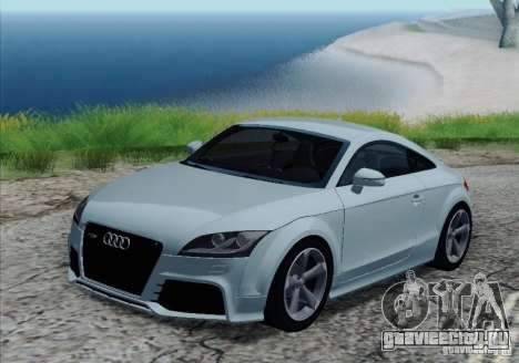 Audi TT-RS Coupe для GTA San Andreas колёса