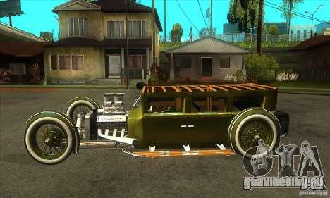 HotRod sedan 1920s для GTA San Andreas вид слева