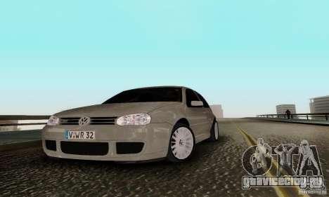 Volkswagen Golf 4 для GTA San Andreas