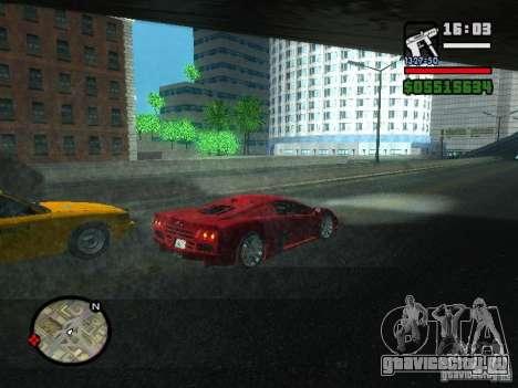 SSC Ultimate Aero для GTA San Andreas вид справа