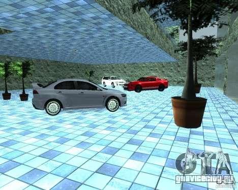 HD Автосалон для GTA San Andreas четвёртый скриншот