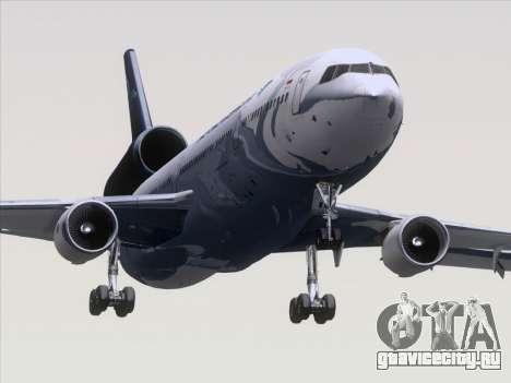 McDonnell Douglas MD-11 Garuda Indonesia для GTA San Andreas вид сзади слева