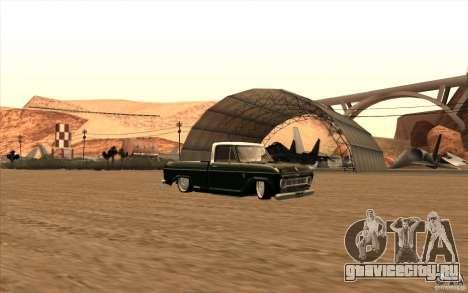 Chevrolet C-10 Fixxa для GTA San Andreas вид сзади