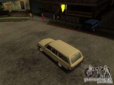 ГАЗ 310221 Волга Универсал для GTA San Andreas вид сзади слева
