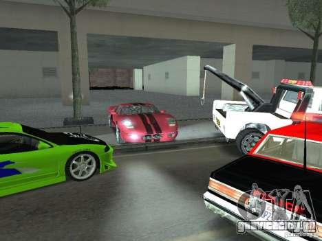 Bullet HQ для GTA San Andreas вид сбоку