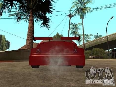 ВАЗ 2112 Red Devil для GTA San Andreas вид сзади слева