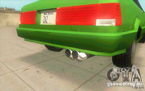 Mad Drivers New Tuning Parts для GTA San Andreas восьмой скриншот