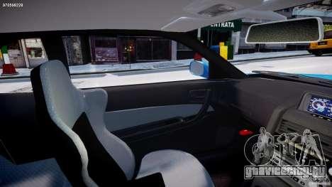 Nissan Skyline R-34 V-spec для GTA 4 вид изнутри