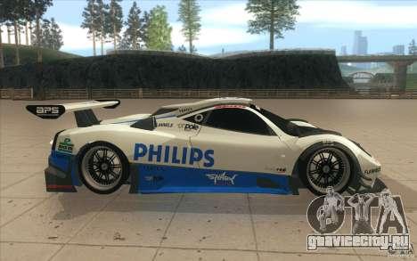 Pagani Zonda Racing Edit для GTA San Andreas