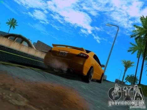 Honda Civic Si JDM для GTA San Andreas вид сзади слева