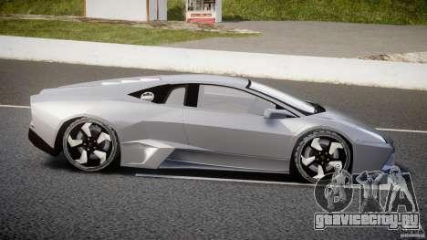 Lamborghini Reventon v2 для GTA 4 вид слева