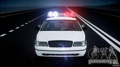 Ford Crown Victoria FBI Police 2003 для GTA 4 колёса