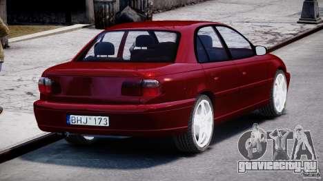 Opel Omega 1996 V2.0 First Public для GTA 4 вид сбоку