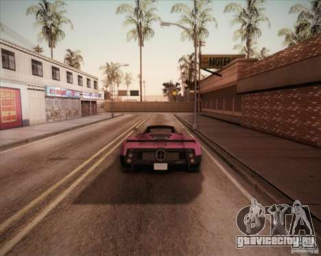 Pagani Zonda F V1.0 для GTA San Andreas вид слева