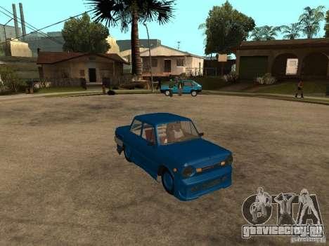 ЗАЗ 968 MUSIC EXPERT для GTA San Andreas вид справа
