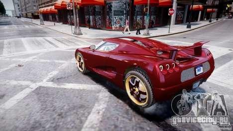 Koenigsegg CCRT для GTA 4 вид слева
