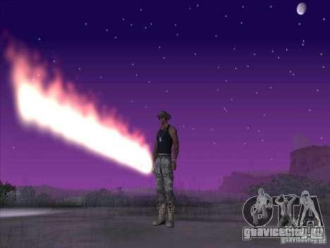 Огненный меч для Си Джея для GTA San Andreas
