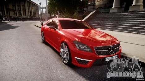Mercedes-Benz CLS 63 AMG 2012 для GTA 4 вид сбоку