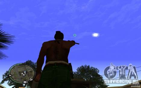Прицел v1 для GTA San Andreas четвёртый скриншот