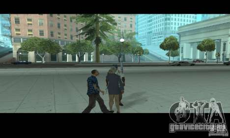 Поцелуи для GTA San Andreas