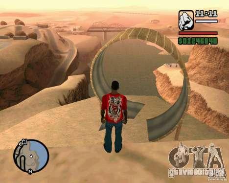 Пизанская башня для GTA San Andreas второй скриншот