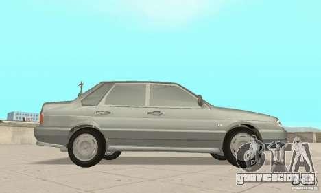ВАЗ 2115 TUN для GTA San Andreas вид справа