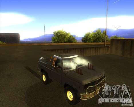 Blazer XL FlatOut2 для GTA San Andreas вид сбоку