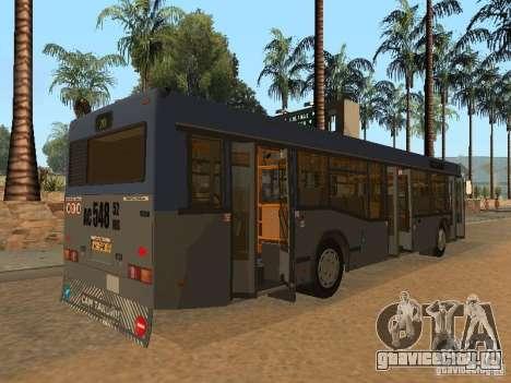 МАЗ 103 для GTA San Andreas вид сверху