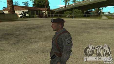Shepard из CoD MW2 для GTA San Andreas второй скриншот