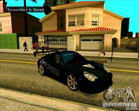 Porsche GT3 SuperSpeed TUNING для GTA San Andreas вид слева