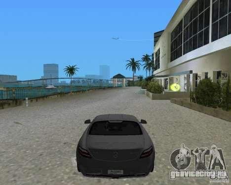 Mercedes Benz SLS AMG для GTA Vice City вид сзади слева