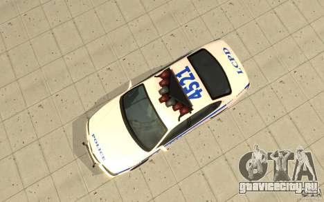 Police Patrol из GTA 4 для GTA San Andreas вид справа