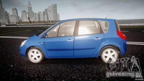 Renault Scenic II Phase 2 для GTA 4 вид слева
