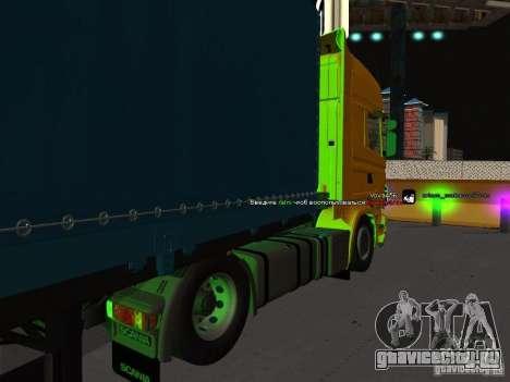 Scania R620 для GTA San Andreas вид слева
