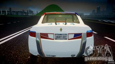 Carbon Motors E7 Concept Interceptor NYPD [ELS] для GTA 4