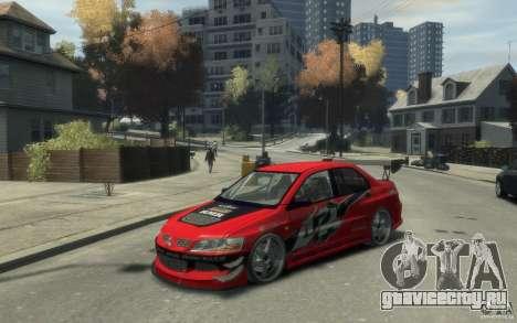 Mitsubishi Lancer для GTA 4