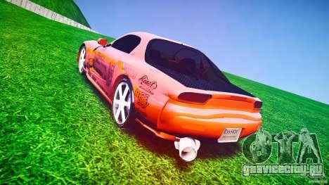 Mazda RX-7 ProStreet Style для GTA 4 вид сбоку