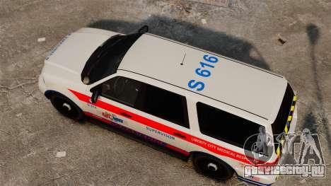 Полицейский Landstalker ELS для GTA 4 вид справа