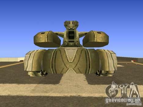 Star Wars Tank v1 для GTA San Andreas вид справа