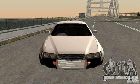 Toyoyta Chaser jzx100 для GTA San Andreas вид сзади слева