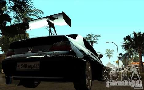 Peugeot 406 Taxi для GTA San Andreas вид справа