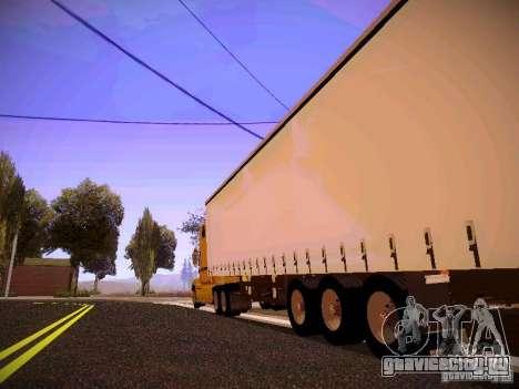 Mack Vision для GTA San Andreas вид сзади слева