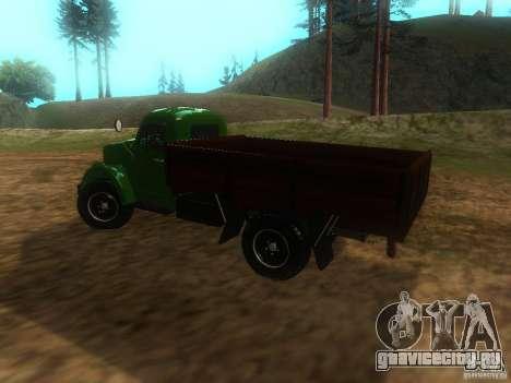 ГАЗ-63 для GTA San Andreas вид слева