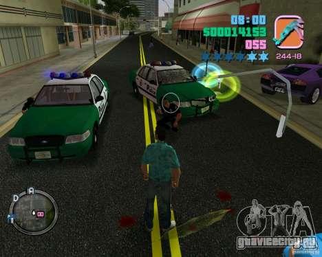 Новая одежда копов для GTA Vice City пятый скриншот