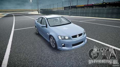 Holden Commodore SS (CIVIL) для GTA 4 вид сзади