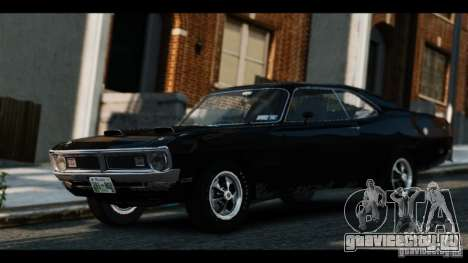 Dodge Demon 1971 для GTA 4 вид сзади слева