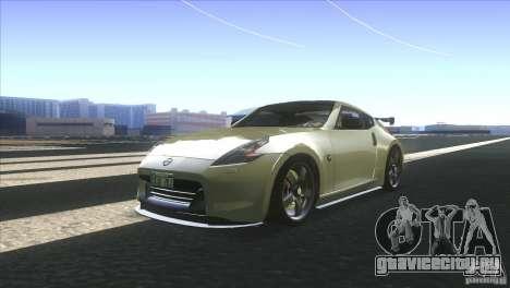 Nissan 370Z Drift 2009 V1.0 для GTA San Andreas вид сзади слева