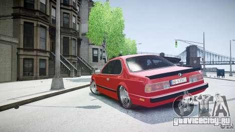 BMW M6 v1 1985 для GTA 4 вид сбоку