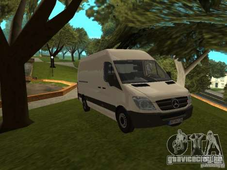 Mercedes Sprinter 311CDi beta для GTA San Andreas
