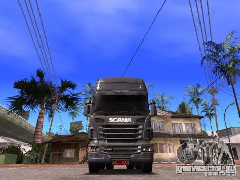 Scania R-440 для GTA San Andreas вид справа